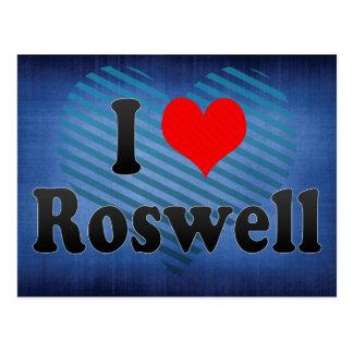 Carte Postale J'aime Roswell, Etats-Unis