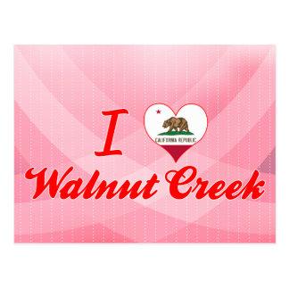 Carte Postale J'aime Walnut Creek, la Californie