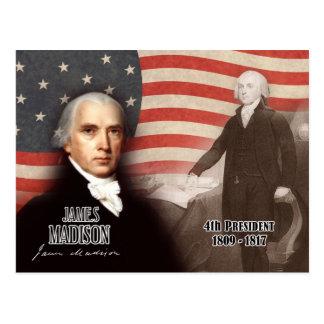 Carte Postale James Madison - 4ème président des États-Unis