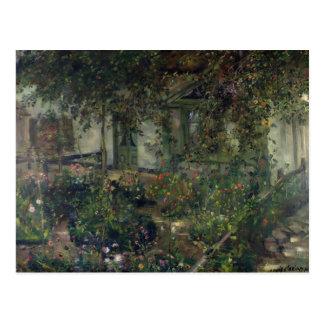 Carte Postale Jardin d'agrément en fleur, 1904