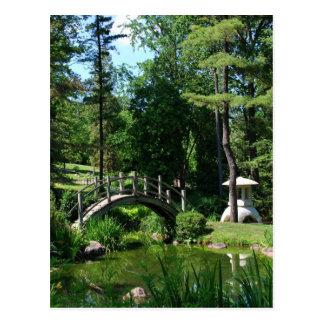 Carte Postale Jardin de tranquilité