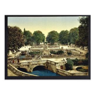 Carte Postale Jardin des fontaines, cru Pho de Nîmes, France