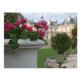 Carte Postale Jardin du Luxembourg
