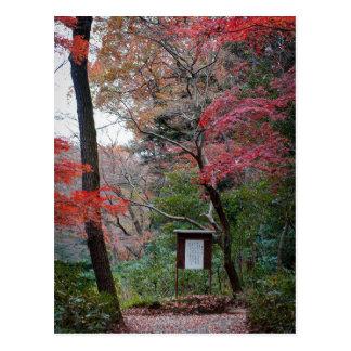 Carte Postale Jardin intérieur de tombeau de Meiji-Jingu