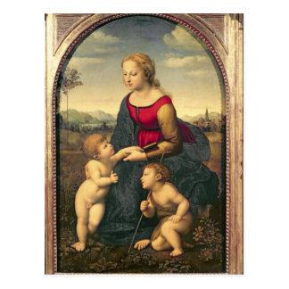 Carte Postale Jardiniere de belle de La, 1507