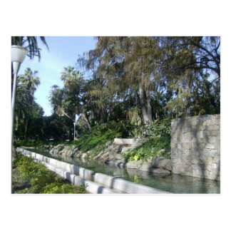 Carte Postale Jardins à Malaga