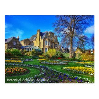 Carte Postale Jardins botaniques, Sheffield