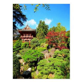 Carte Postale Jardins de thé japonais de San Francisco