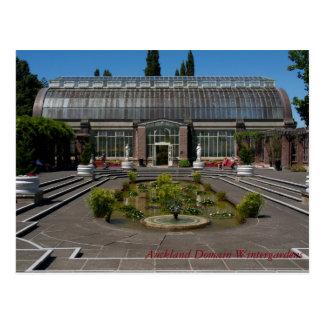 Carte Postale Jardins d'hiver de domaine d'Auckland