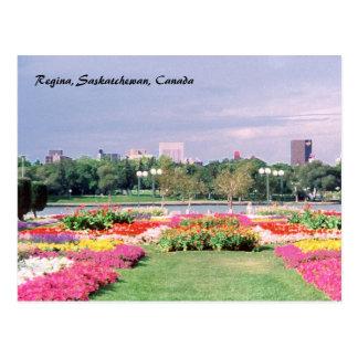 Carte Postale Jardins législatifs peints de Regina