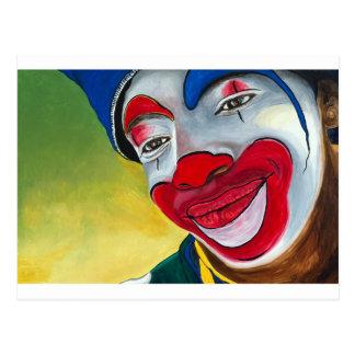 Carte Postale Jason le clown