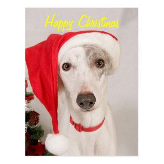 Carte Postale Jaspe le chien de Noël