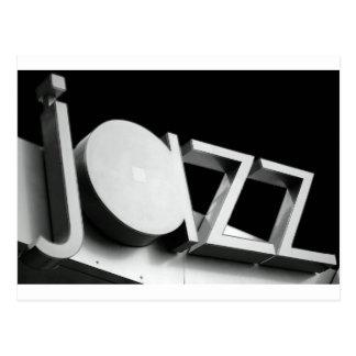 Carte Postale Jazz