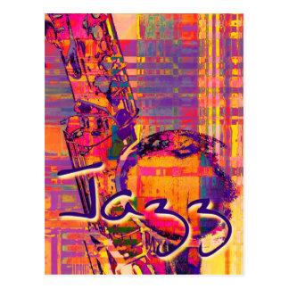 Carte Postale Jazz13