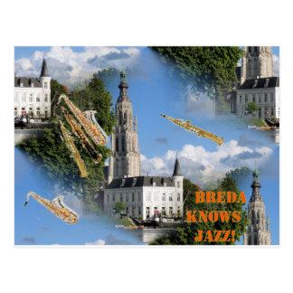 Carte Postale Jazz de Breda Grote Kerk