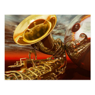 Carte Postale Jazz par Lenny