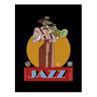 Carte Postale Jazz postal Dessinateur
