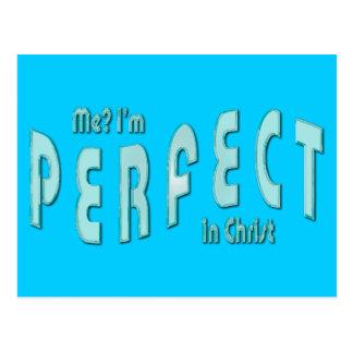 Carte Postale Je ? Je suis parfait… en Christ - 10h14 d'Hébreux
