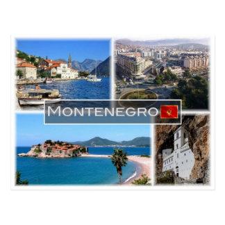 Carte Postale JE Monténégro -