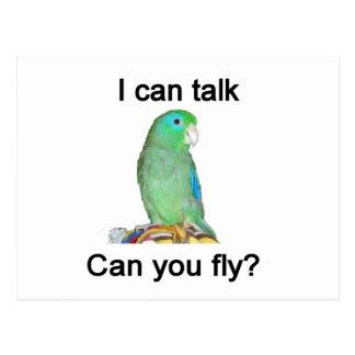Carte Postale Je pouvez-vous parler, pouvez-vous voler ?