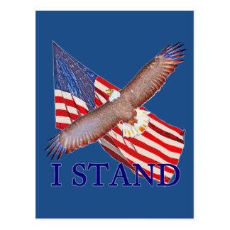 Carte Postale je représente l'Amérique