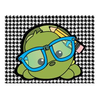 Carte Postale Je-sais-tout de tortue