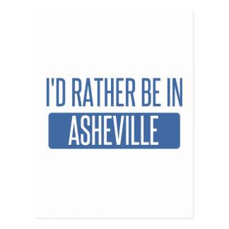 Carte Postale Je serais plutôt à Asheville