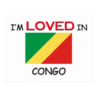 Carte Postale Je suis aimé au CONGO