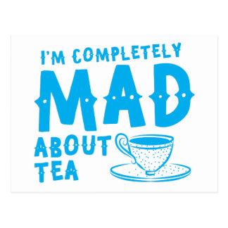 Carte Postale Je suis complètement FOU au sujet du thé