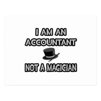 Carte Postale Je suis un comptable… Pas un magicien