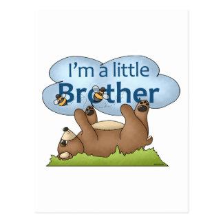 Carte Postale Je suis un ours de petit frère
