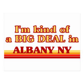 Carte Postale Je suis un peu une AFFAIRE à Albany