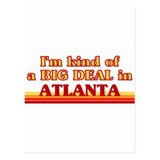 Carte Postale Je suis un peu une AFFAIRE à Atlanta