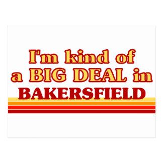 Carte Postale Je suis un peu une AFFAIRE à Bakersfield