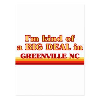 Carte Postale Je suis un peu une AFFAIRE à Greenville