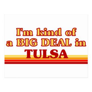 Carte Postale Je suis un peu une AFFAIRE à Tulsa