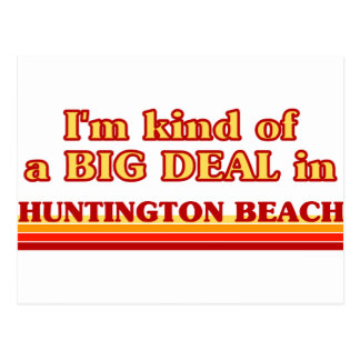 Carte Postale Je suis un peu une AFFAIRE en Huntington Beach