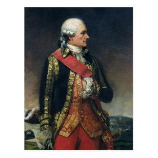Carte Postale Jean-Baptiste de Vimeur Count de Rochambeau