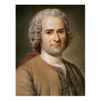 Carte Postale Jean-Jacques Rousseau après 1753
