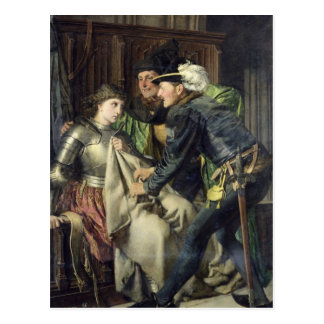 Carte Postale Jeanne d'Arc a insulté en prison, 1866