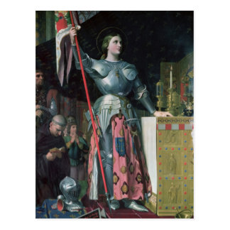 Carte Postale Jeanne d'Arc au couronnement du Roi Charles