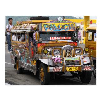 Carte Postale Jeepney