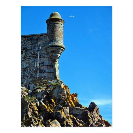 Carte Postale Jersey - One of the turrets on Elizabeth Castle