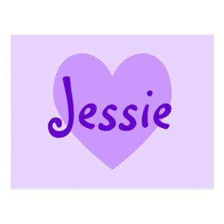 Carte Postale Jessie dans le pourpre