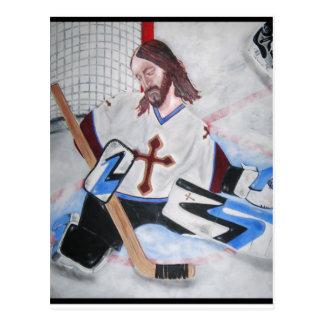 Carte Postale Jésus économise !