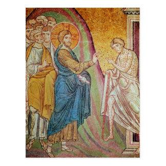 Carte Postale Jésus guérissant un lépreux