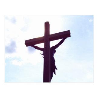 Carte Postale Jésus sur la croix