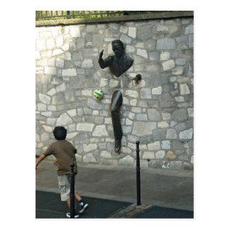 Carte Postale Jeu dans Montmartre