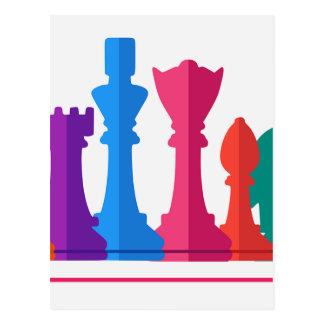 Carte Postale Jeu d'échecs