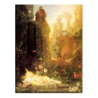 Carte Postale Jeune Moïse par Gustave Moreau